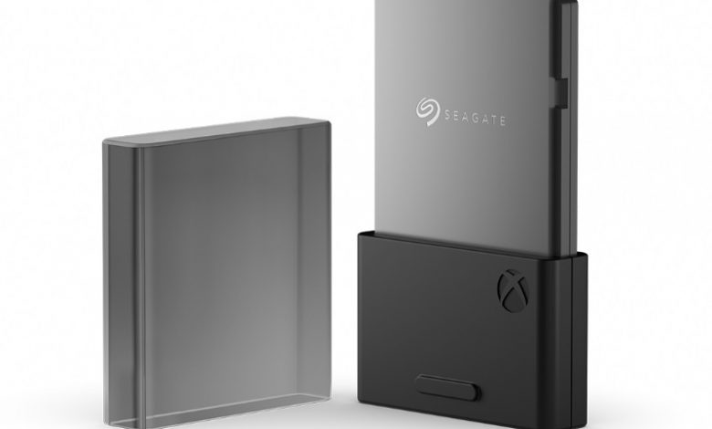 Seagate's SSD for Xbox Series X