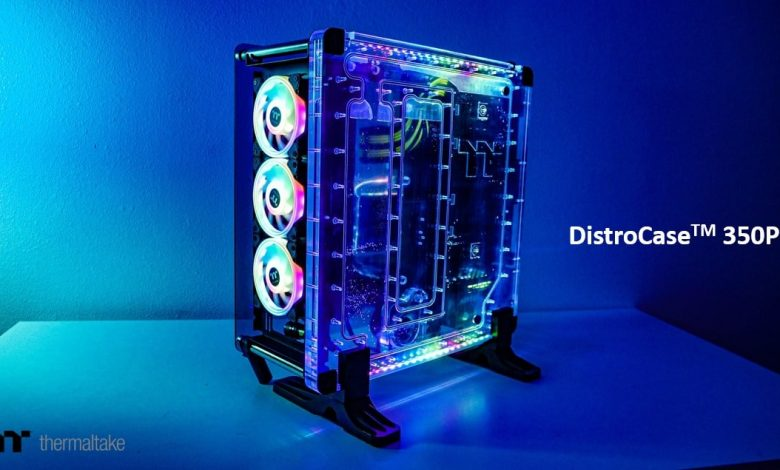 Thermaltake introduces DistroCase 350P Case