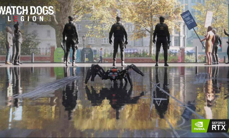 Watch Dogs Legion Screenshots with Ray Tracing