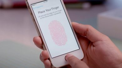 Apple's new patent for fingerprint scanner