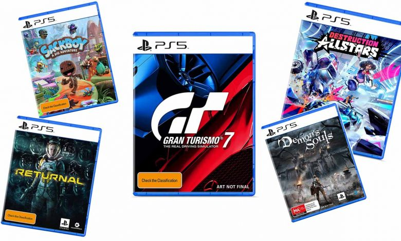 Box Arts of some PS5 games appear online