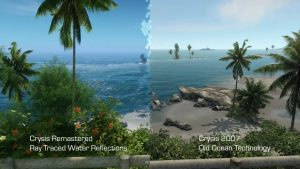 ویژگی Ray Tracing در بازی Crysis Remastered