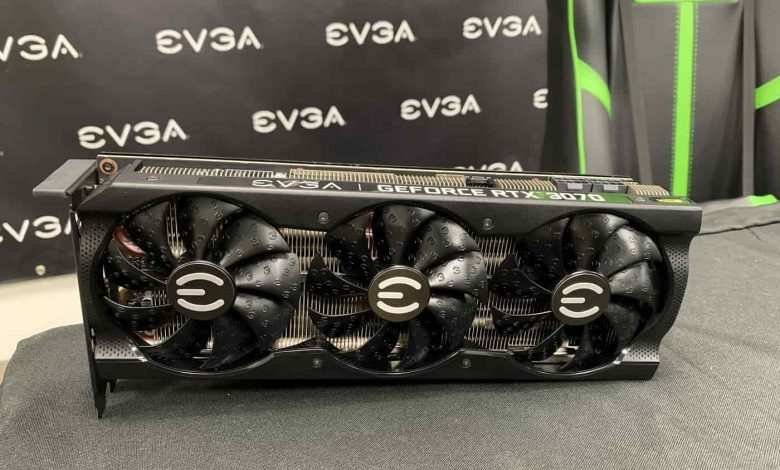 EVGA let's us to have a closer look to RTX 3070 XC3