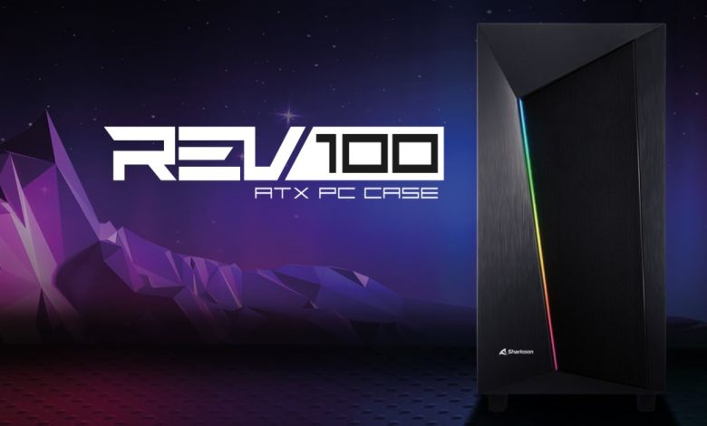 Sherkoon introduces REV100 Case