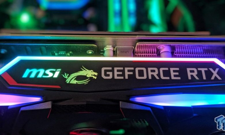 MSI joins others to introduce RTX 30' GPUs