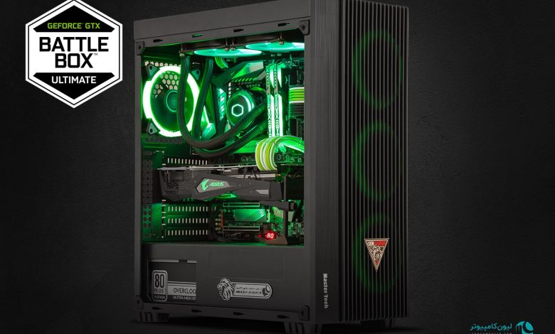 Nvidia Battlebox is the standard in Gaming PCs
