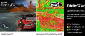 FidelityFX Variable Rate Shading