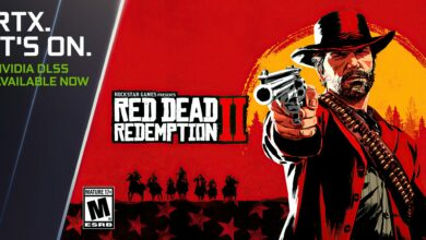 Red Dead Redemption 2 با فناوری DLSS